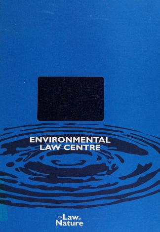 Cover of: Canadian Directory of Environmental Experts | Donna Tingley
