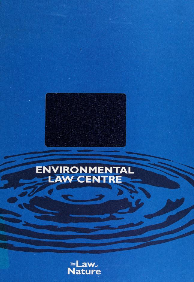 Canadian Directory of Environmental Experts by Donna Tingley