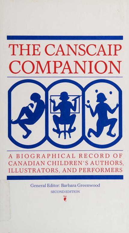 Canscaip Companion by Barbara Greenwood