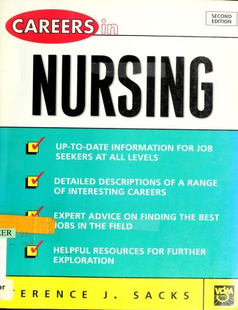 Cover of: Careers in nursing | Terence J Sacks