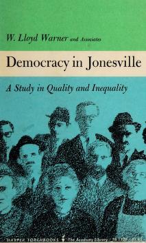 Cover of: Democracy in Jonesville | Warner, W. Lloyd