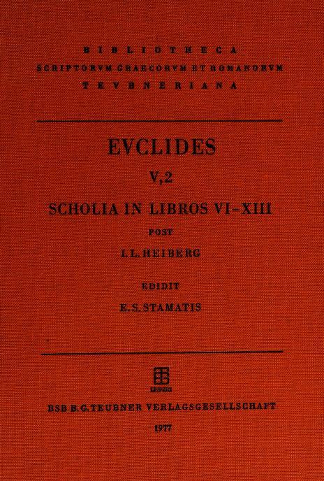 Elementa by Euclid