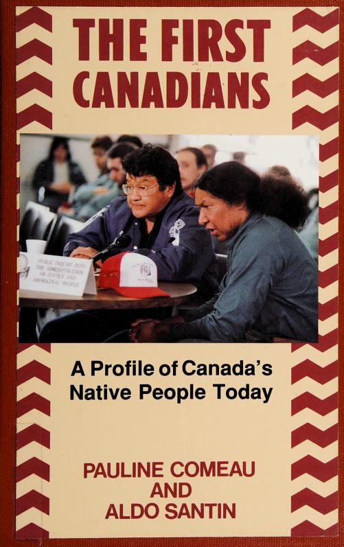 The first Canadians by Pauline Comeau