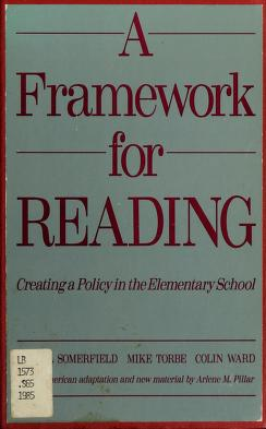 Cover of: A framework for reading | Muriel Somerfield