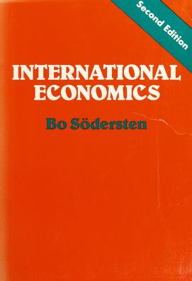 Cover of: International Economics | Bo S-Odersten