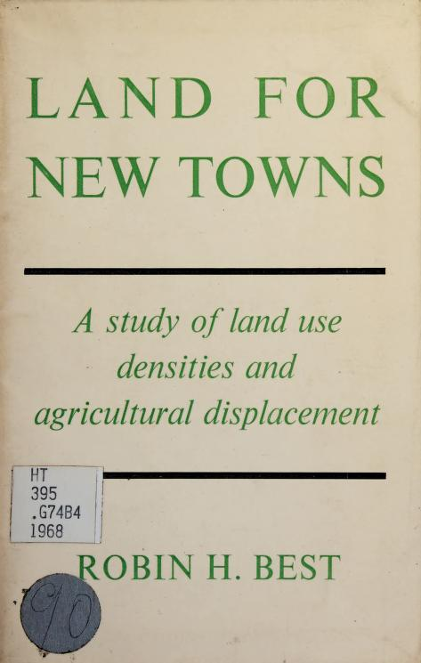 Land for new towns by Robin Hewitson Best