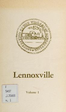 Cover of: Lennoxville / compiled by Kethleen H. Atto and [History] Committee, Lennoxville-Ascot Historical and Museum Society [puis] compiled by Graham Patriquin and [History] Committee, Lennoxville-Ascot Historical and Museum Society. -- | Kathleen H. Atto