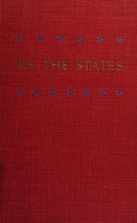 We the states by Virginia. Commission on Constitutional Government